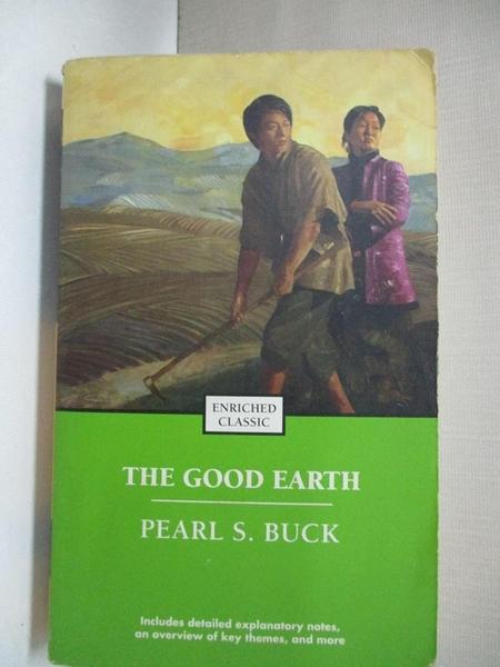 【書寶二手書T1/原文小說_CVB】The Good Earth (Enriched Classics)大地_Pearl S. Buck