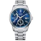 CITIZEN 星辰 動力儲存 機械錶 NB3001-61M 藍_40.5mm