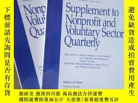 二手書博民逛書店Nonprofit罕見and Voluntary Sector