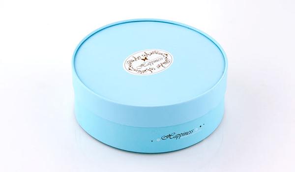 16CM經典藍色 附棉紙底板 6吋  乳酪盒 起司蛋糕盒 烘焙紙盒 外帶盒 禮盒 包裝盒 派盒【C001】