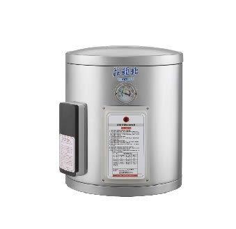 [ 家事達 ] TE1080 莊頭北 直掛 機械式溫控-8加侖儲熱式電熱水器 特價 內外桶不鏽鋼設計