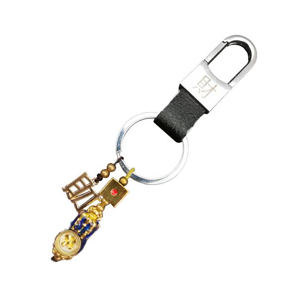 第二件半價●逢賭必贏-轉運貔貅鑰匙圈《含開光》財神小舖【DST-1052】補救漏財、失財的機率