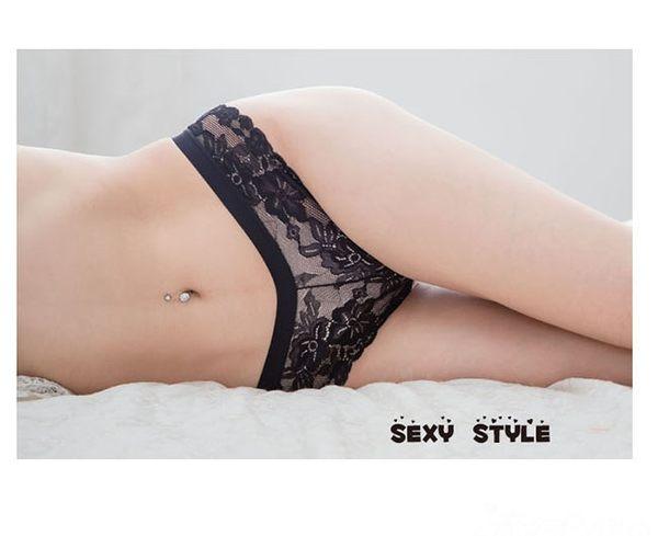 2入裝性感丁字褲 蕾絲女性內褲 流行e線B6128