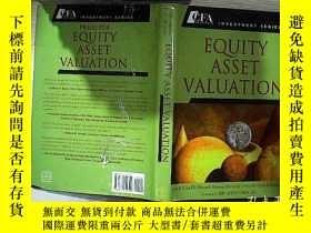 二手書博民逛書店Equity罕見Asset Valuation 權益資產評估Y261116
