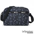 LeSportsac - Standard側背隨身包 (黑貓與鳥) 2434P E425
