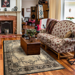 【YFS】凡緹居地毯 柔軟 親膚 易整理 仿古印染地毯200x300c
