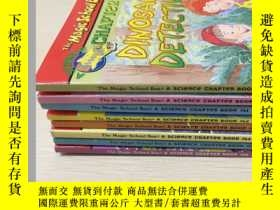 二手書博民逛書店Magic罕見School Bus Science Chapter Books (Paperback)9-11共八