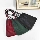 小皮包法國小眾品牌歐貨真皮包包女女2020新款購物袋簡約百搭牛皮低價包 非凡小鋪