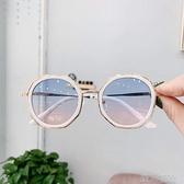 兒童墨鏡寶寶兒童太陽鏡女童眼鏡防紫外線拍照造型女時尚墨鏡女寶潮款男童 【快速出貨】
