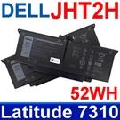 戴爾 DELL JHT2H 4芯 . 電池 4V5X2 HRGYV WY9MP P34S P34S001 Latitude 7310