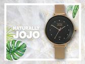 【時間道】NATURALLY JOJO  都會簡約仕女腕錶 / 黑面玫瑰金米蘭帶(JO96927-88R)免運費