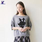 【早秋新品】American Bluedeer - 可愛鹿頭針織上衣(魅力價) 秋冬新款