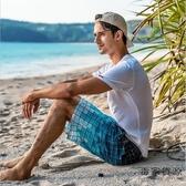 沙灘褲夏季休閒五分中褲寬松大碼速干褲短褲【毒家貨源】