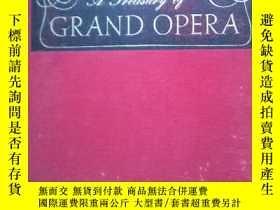 二手書博民逛書店英文原版罕見GRAND OPERA(著名歌劇唱段)Y137730