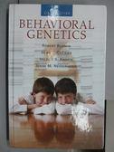 【書寶二手書T2/大學理工醫_QBS】Behavioral Genetics_2013年
