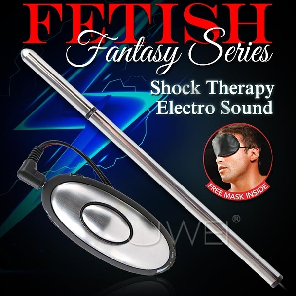 情趣用品 美國原裝進口PIPEDREAM.Fantasy Series系列 Shock Therapy Electro Sound 電波脈衝尿道刺激自慰器