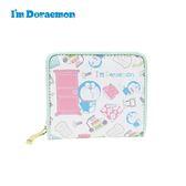 【日本正版】哆啦A夢 皮革 短夾 皮夾 錢包 小叮噹 DORAEMON 三麗鷗 Sanrio - 633049