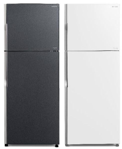 日立 HITACHI 414公升琉璃面板雙門變頻冰箱 RG439