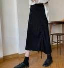 *花漾e裳*裙子【側抽繩抽褶系帶設計百搭...