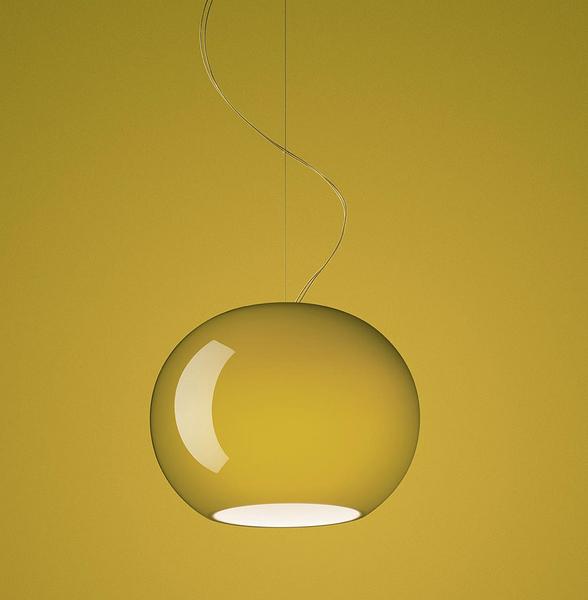 義大利 Foscarini Buds 3 Suspension Lamp 30cm 圓弧 亮澤玻璃 吊燈 型號 3