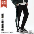 【ZIP FIVE】側線條運動褲 街頭風休閒長褲