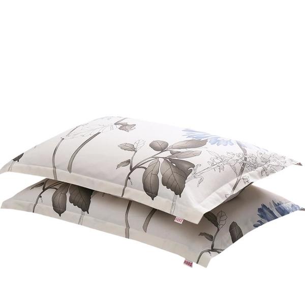 純棉枕套一對裝100全棉枕頭套男加厚大號家用48x74學生40x60四季 設計師生活百貨