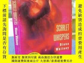 二手書博民逛書店Diana罕見Whitney:SCARLET WHISPERS(