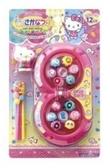 日本 Hello Kitty 8字型鈞魚玩具組(186771) 中國 隨身攜帶 生日禮物 聖誕禮物 兒童節  -超級BABY