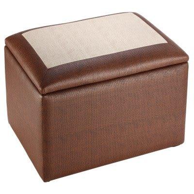 [家事達] SA-SC-007 《TONY》多功能掀蓋收納椅