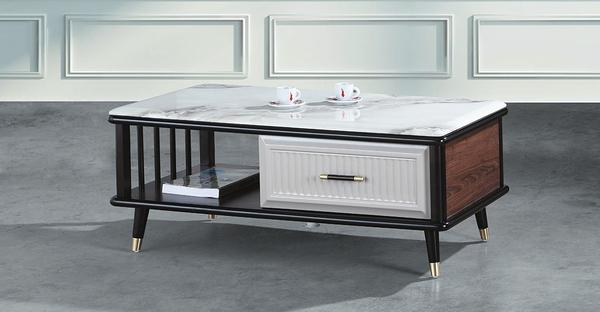 【南洋風休閒傢俱】時尚茶几系列-喬治大茶几 沙發桌 美式咖啡桌 CX678-1