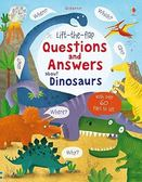 Lift-The-Flap Questions And Answers About Dinosaurs 翻翻學習書:恐龍的問與答 精裝本