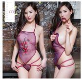 性感情趣內衣服激情套裝血滴子騷開檔式內褲女日系夫妻用品透視裝 奇思妙想屋