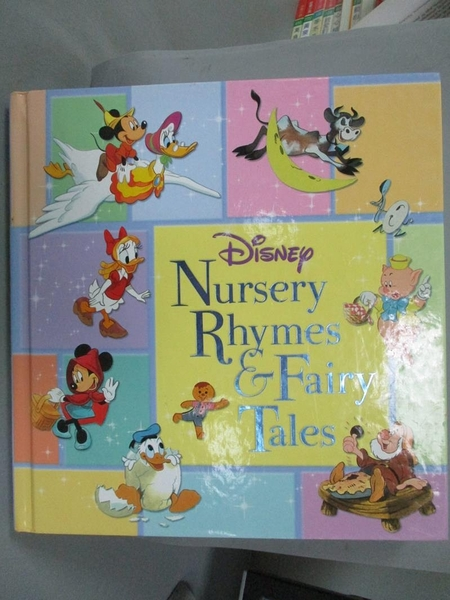 【書寶二手書T4/兒童文學_XAZ】Disney's Nursery Rhymes & Fairy Tales_