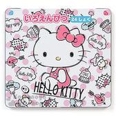 〔小禮堂〕Hello Kitty 日製盒裝24色鉛筆《白.大點點.素描風.蛋糕》日本三菱文具 4901610-90242