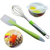 不銹鋼打蛋器手動雞蛋奶油攪拌器家用攪蛋棒刮刀工具