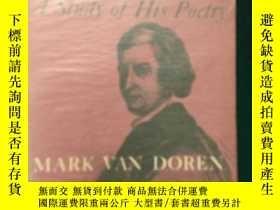 二手書博民逛書店John罕見Dryden:A study of his poet