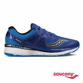 SAUCONY TRIUMPH ISO 3 緩衝避震專業訓練鞋款-藍x銀
