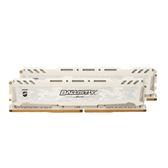 美光 16G(8x2)DDR4 3000 (白散熱片) 記憶體 (BLS2K8G4D30AESCK)