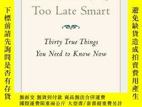 二手書博民逛書店Too罕見Soon Old, Too Late SmartY256260 Gordon Livingston