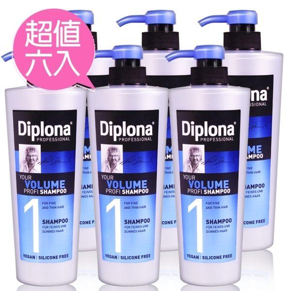 德國Diplona Profi專業級豐盈洗髮精600ml六入