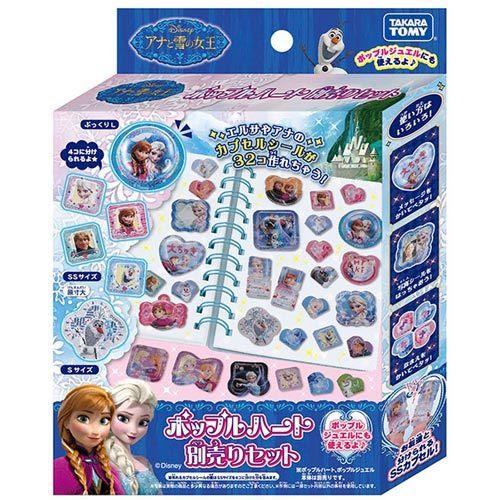 DISNEY 冰雪奇緣 心鑽立體貼紙機 貼紙補充包 (TAKARA TOMY) 83407