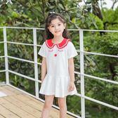兒童夏裝2018新款連衣裙短袖裙子韓版5女童3寶寶4女孩童裝6歲洋裝 喜迎中秋 優惠兩天