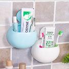 ✭米菈生活館✭【Q116】強力吸盤洗漱架 牙刷 牙膏 衛浴 收納 置物 防水 廚房 小物 掛子 湯勺