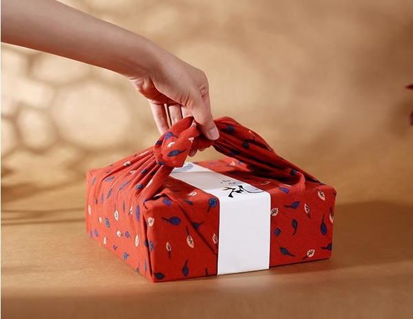 新品中秋禮盒雙層木質方盒日式手提蛋黃酥茶葉月餅包裝空盒印logo 初色家居馆