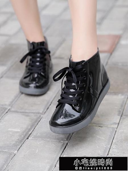 雨鞋 時尚短筒雨鞋女套鞋可愛果凍雨靴韓國水鞋防滑水靴子防水成人膠鞋 小宅妮
