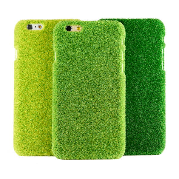 iPhone 6/6s Plus 手機殼 日本 獨家代理 草地/草皮/公園 硬殼 5.5吋 Shibaful -中央公園