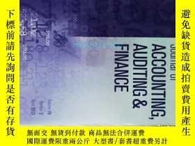 二手書博民逛書店Journal罕見of Accounting, Auditing