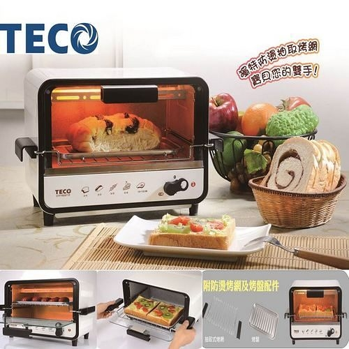 TECO東元9L防燙外取式電烤箱XYFYB0971R【刷卡分期+免運】