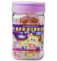 瑞凱生技-聰明虎D.H.A魚肝油+綜合維他水果軟糖 (2顆入)【台安藥妝】