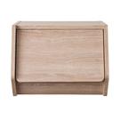 空櫃 整理箱 置物櫃【收納屋】艾莉絲掀門櫃-原木色& DIY組合傢俱